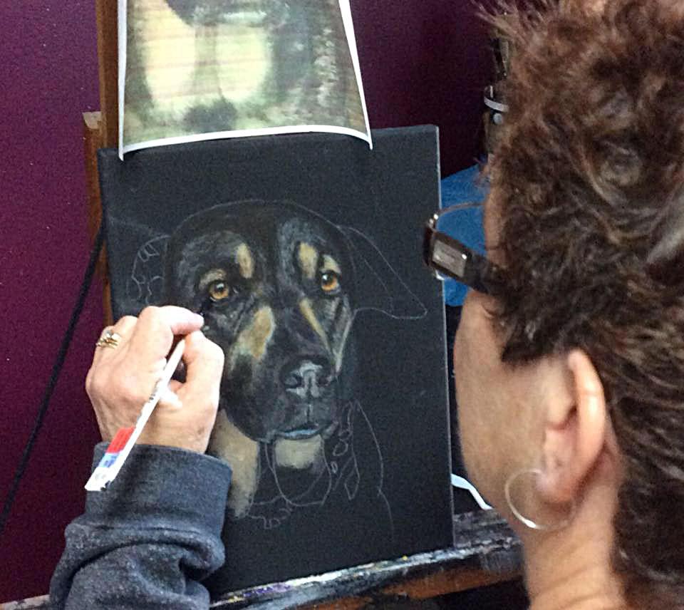 Wendy Johnson at Work