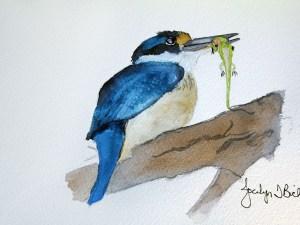 Fisher's Lunch by Jocelyn Bichard