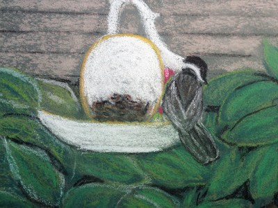 Teacup Feeder by Jocelyn Bichard