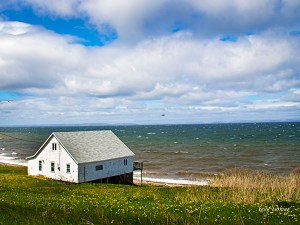 House on Atlantic Ocean