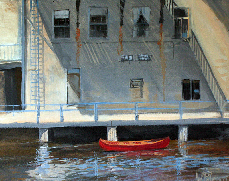 Red Canoe by Wendy Palmero