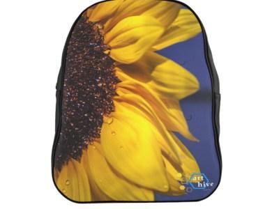 Half Sunflower Backpack