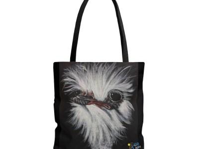 Ostrich with Attitude Tote Bag