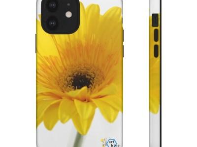 Yellow Gerber Daisy Tough Cases