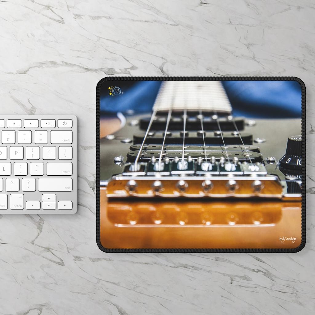 Electric Guitar Gaming Mouse Pad