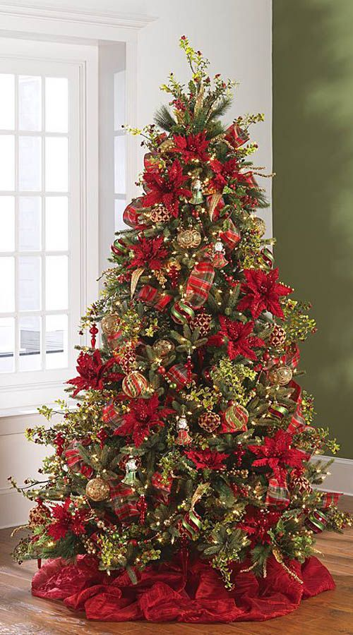 20 Eye Catching Christmas Trees Decorations To Inspire You   The ART     2014 December Dreams Tree  1 by RAZ Imports