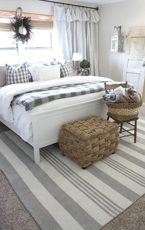 18 Rustic Farmhouse Bedroom Decor Ideas To Transform Your ...