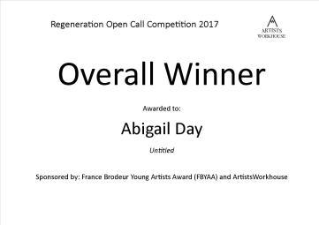 Overall Winner - Abigail Day