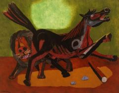 Lion and Horse, 1942