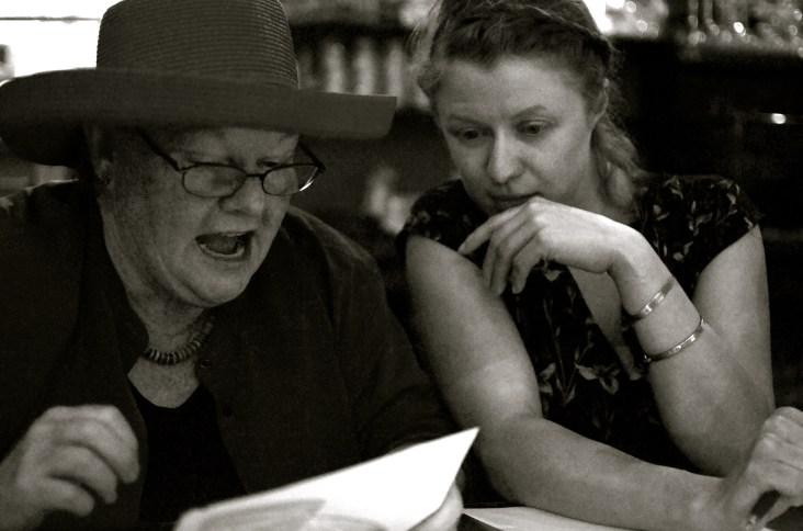 Maureen and Olivia