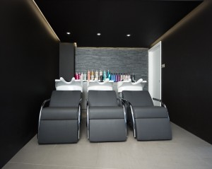 the backwash area is located in a secluded part..