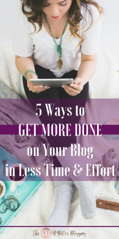Many bloggers are overwhelmed and seem to think that it takes a ton of time, effort, energy, blood, sweat & tears to be a successful blogger. Nope. The hustle is a lie. Why constantly hustle in your blog & biz when there IS a better way?