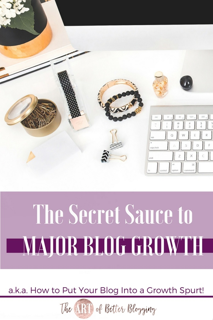 Pulling these five pieces together will push your blog into a major growth spurt and will allow you to start seeing results in a short amount of time. The caveat here, though, is that all five of these ingredients need to present in order to see consistent growth in all areas.