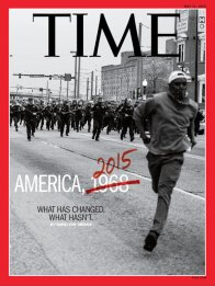 Time magazine, May 11, 2015 – cover features Devin Allen's photography of Baltimore Uprising