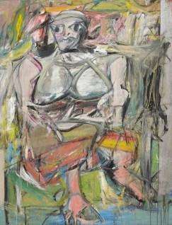 "Willem de Kooning, ""Woman 1"" 1950"