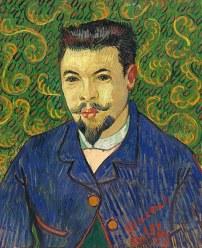 Van Gogh's portrait of Sergei Ivanovich Shchukin