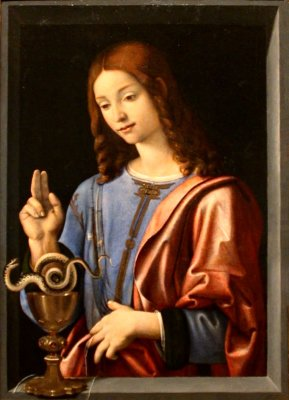 Saint John the Evangelist, Piero de Cosimo ca 1500-1505