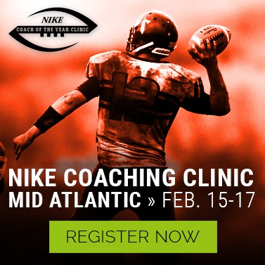 2019 Nike Coach of the Year Clinic Mid-Atlantic Virginia February 15-17, 2019