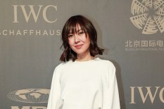 """BEIJING, CHINA - APRIL 18: Fashion Stylist Liz Uy attends IWC's """"For the Love of Cinema"""" Gala, held during the 2017 Beijing International Film Festival at the Imperial Ancestral Temple, just outside Beijing's Forbidden City. (Photo by Lintao Zhang/IWC Schaffhausen via Getty Images) *** Local Caption *** Liz Uy"""