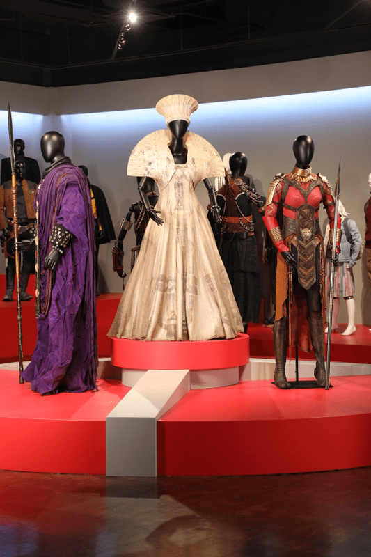 Black Panther costumes by Ruth Carter, 2019 Academy Award nominee for Costume Design.  (Photo: Alex J. Berliner/ABImages)