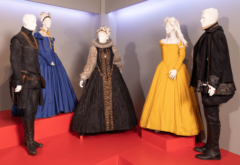 Mary Queen of Scots costumes by Alexandra Byrne, 2019 Academy Award nominee for Costume Design. (Photo: Alex J. Berliner/ABImages)