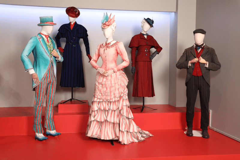 Mary Poppins Returns costumes by Sandy Powell, 2019 Academy Award nominee for Costume Design. (Photo: Alex J. Berliner/ABImages)