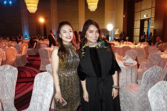 Beauty Blogger Sharice Tan and me