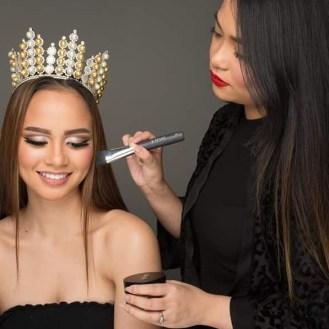 Makeup for MUTYA NG PILIPINAS 2015, Janela Joy Cuaton. Photo by Jerome Elizaga.