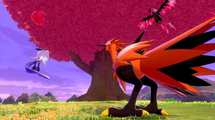 Pokémon Espada Escudo Aves legendarias
