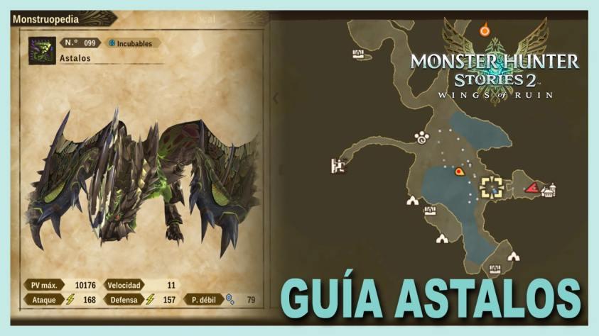 Monster Hunter Stories Astalos