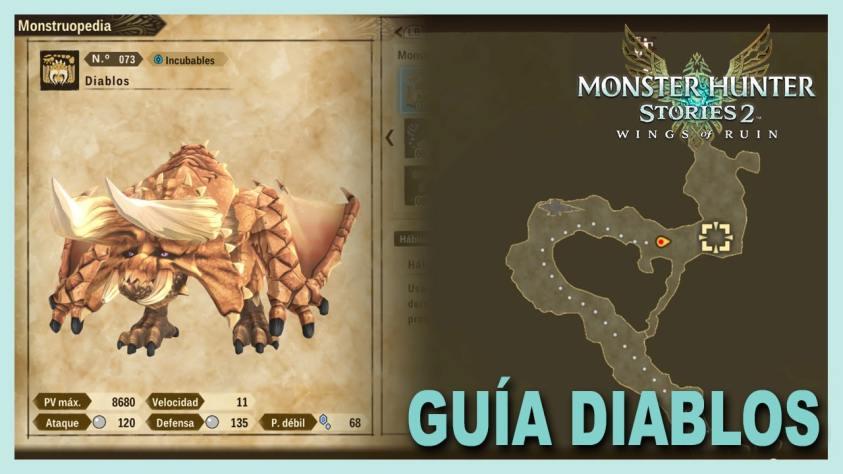 Monster Hunter Stories Diablos