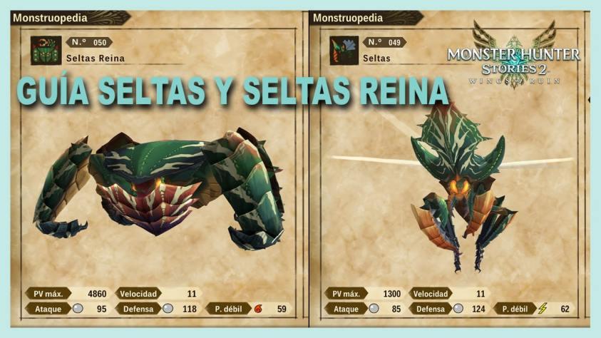 Monster Hunter Stories Seltas