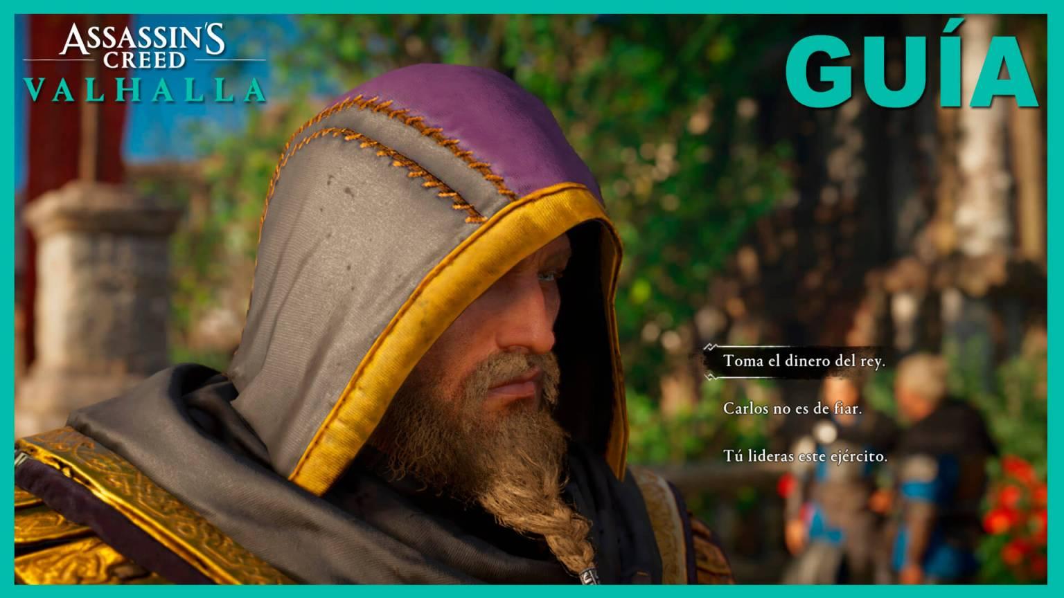 Assassin's Creed Valhalla dinerodel rey