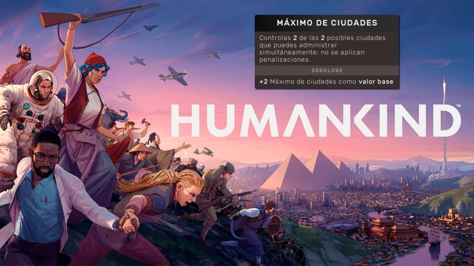 Humankind ciudades