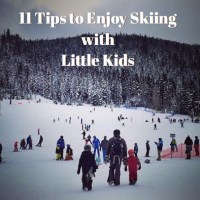 11 Tips to Enjoy Skiing with Little Kids