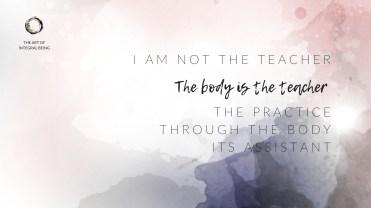 'I am not the teacher'