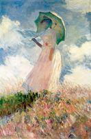 Claude Monet, Woman with a Parasol