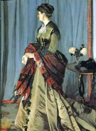Claude Monet, Madame Gaudibert
