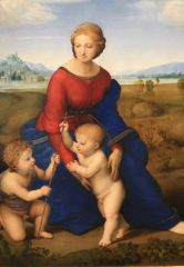 Raphael, Madonna and Child