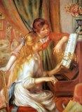 Renoir, Young Girls at a Piano