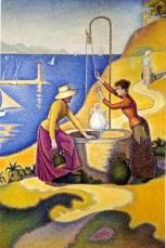 Seurat, Women at a Well