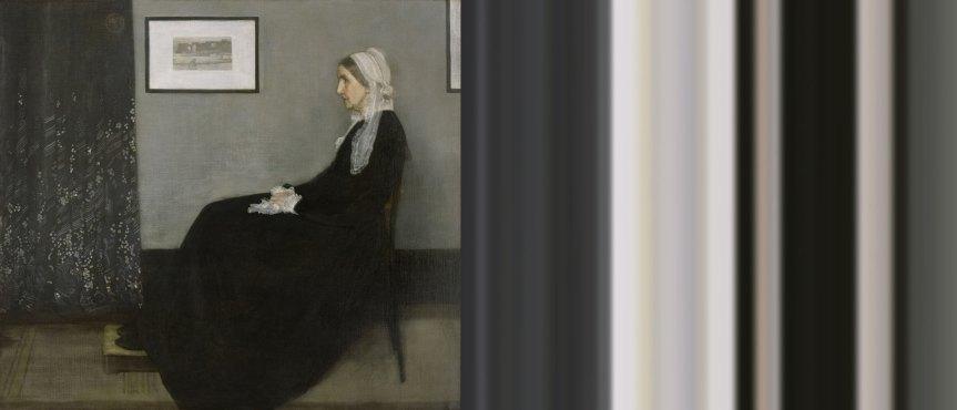 Whistler's Mother Ombré   The Art of Mark Evans
