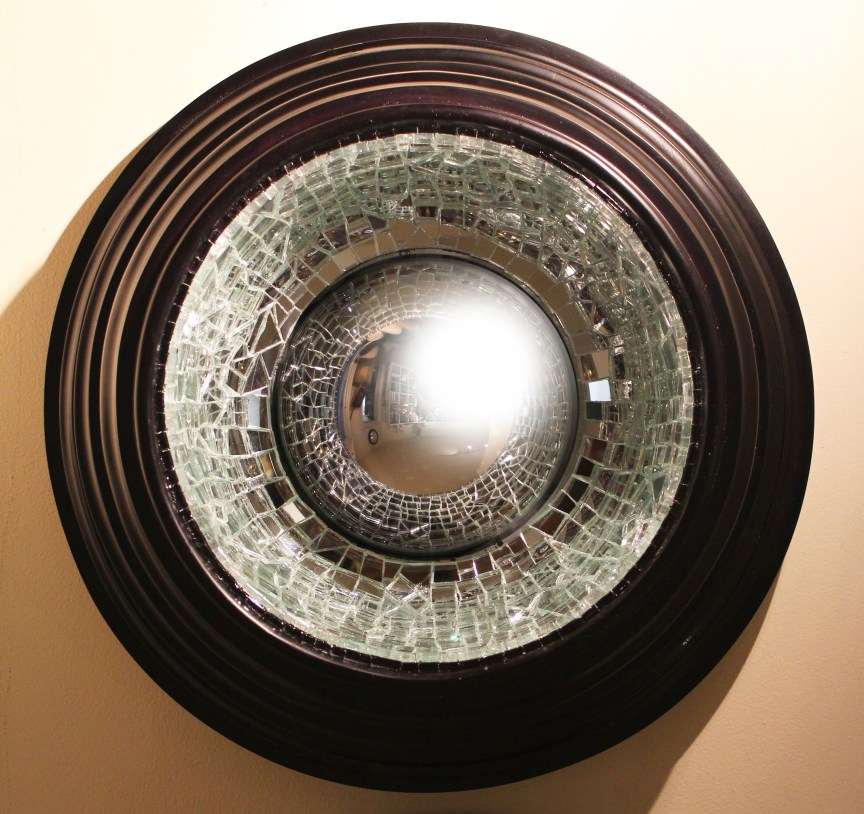 Law of Attraction Convex Mirror   The Art of Mark Evans