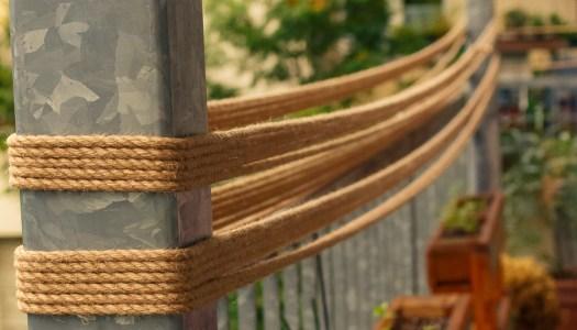 Das Rope trocknet
