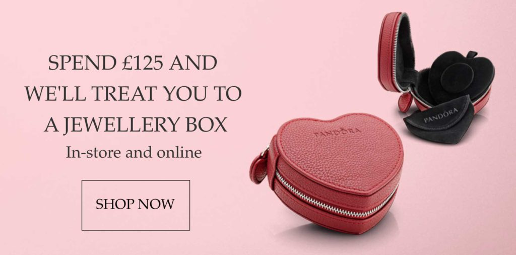 Free PANDORA Jewellery Box Promotion The Art Of Pandora