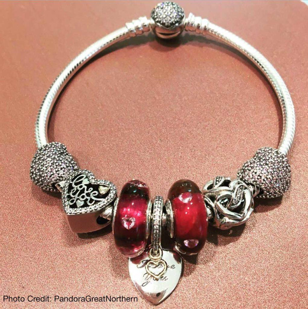 Pandora Store Near Me Pandora Charms Valentines Day Bracelet
