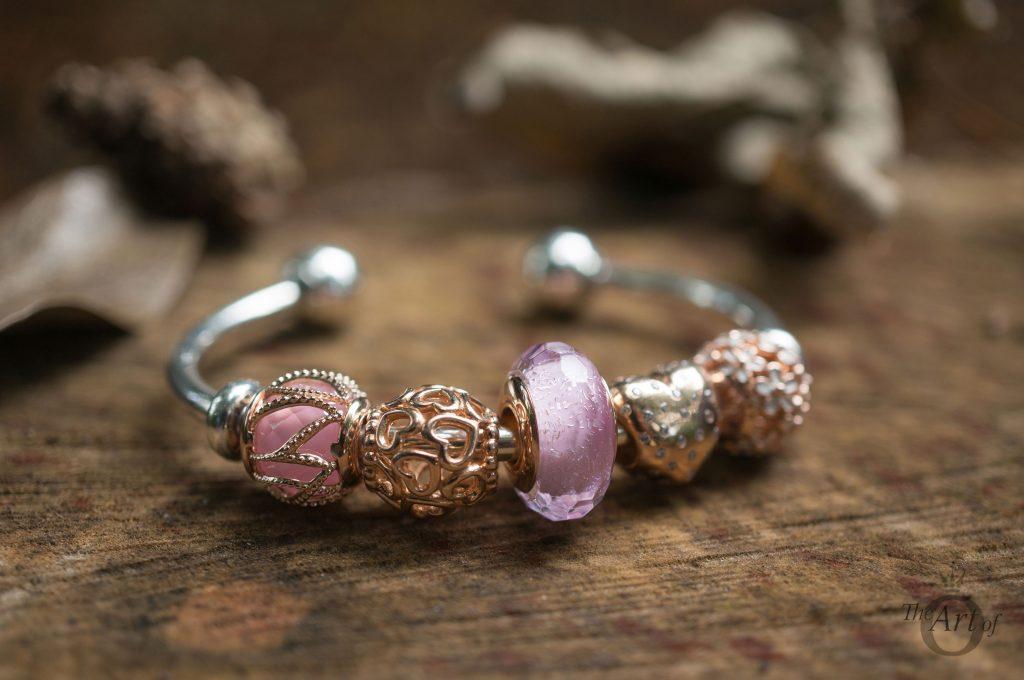 REVIEW Pandora Rose Pink Shimmer Glass Murano The Art