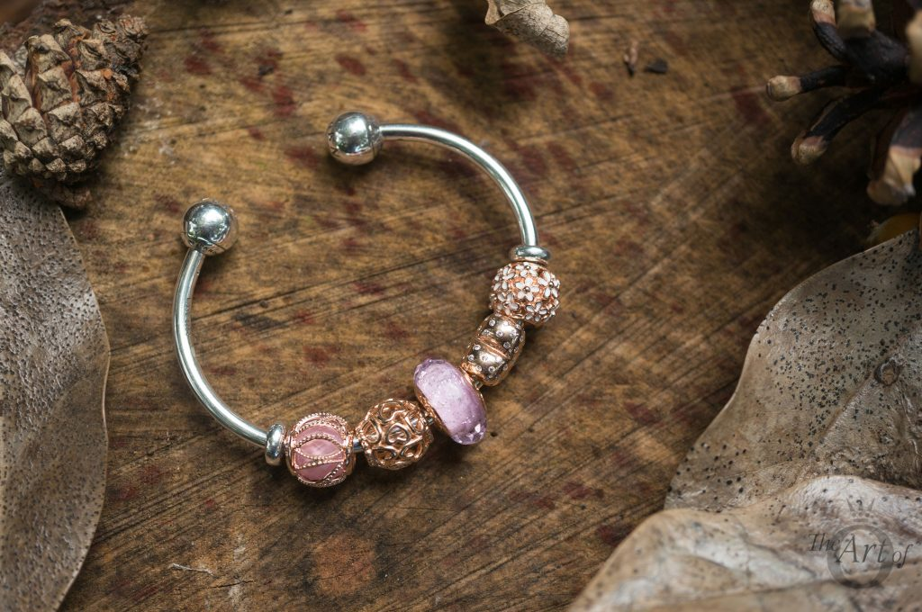 REVIEW Pandora Rose Pink Shimmer Glass Murano The Art