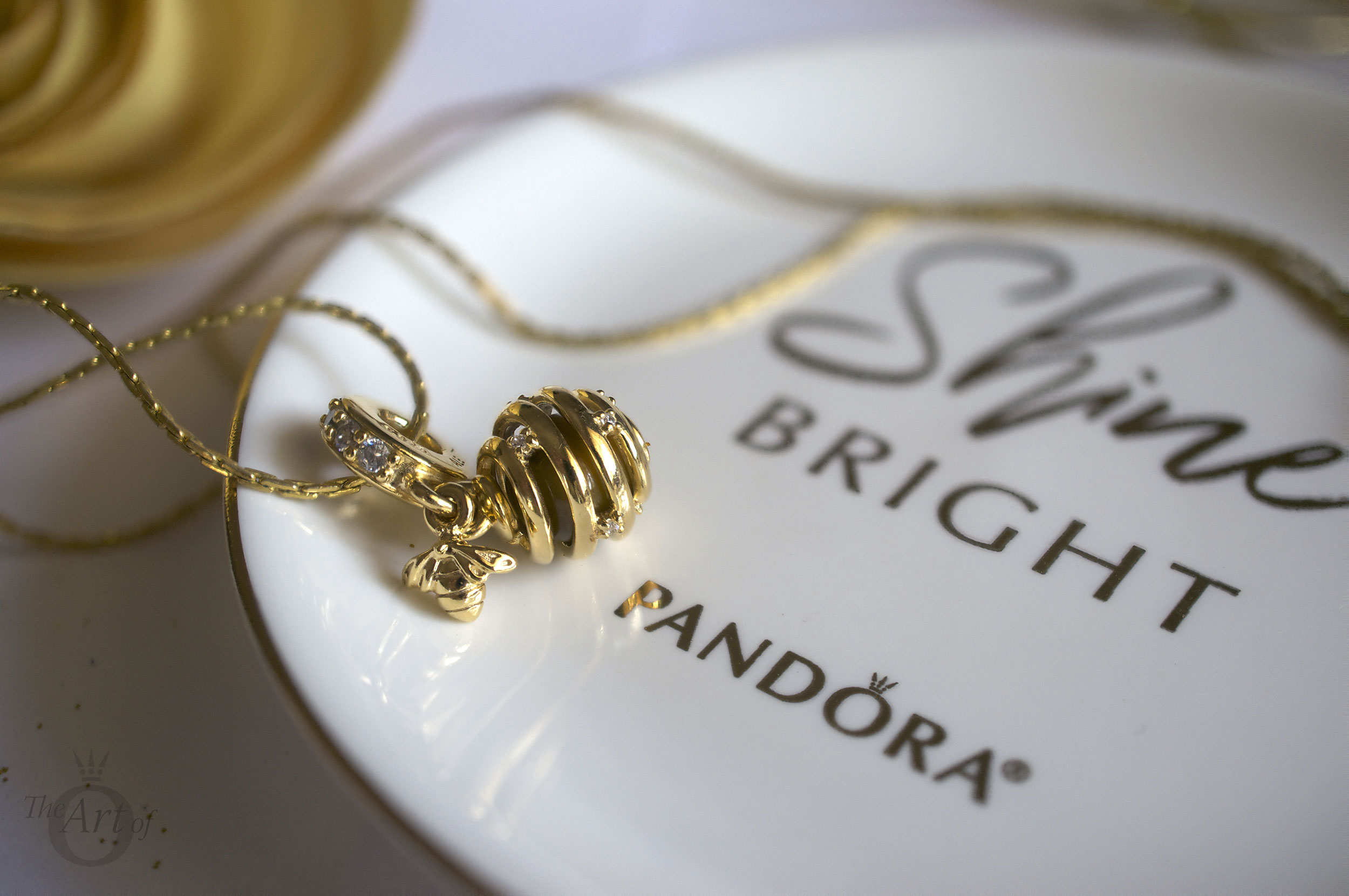 REVIEW PANDORA Shine Sweet As Honey Pendant Charm The Art Of Pandora More Than Just A