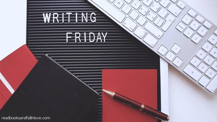 Writing Friday